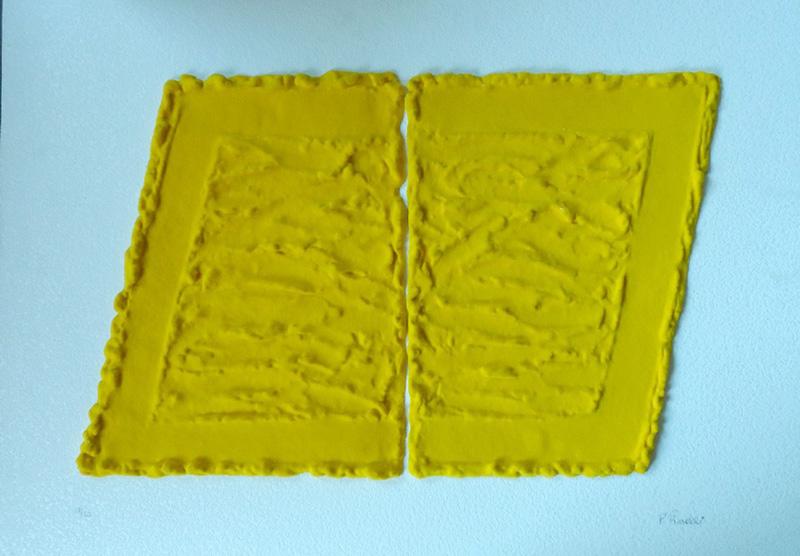 Pino pinelli pittura gialla studio fabrizio pazzaglia for Pino pinelli